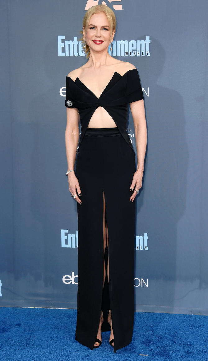 Actress Nicole Kidman attends The 22nd Annual Critics' Choice Awards