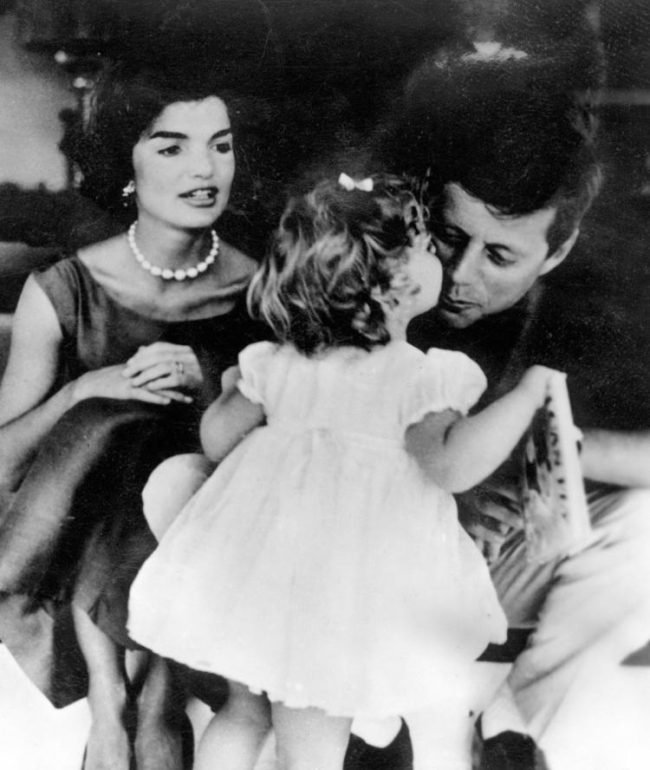The Kennedys with children