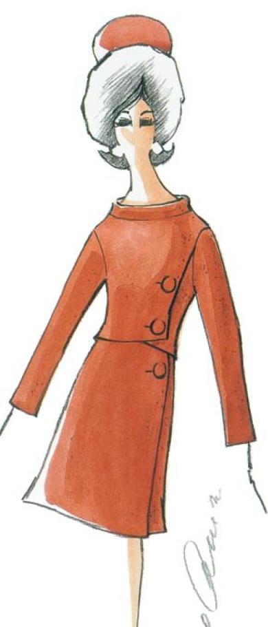 Oleg Cassini design for Jacqueline Kennedy