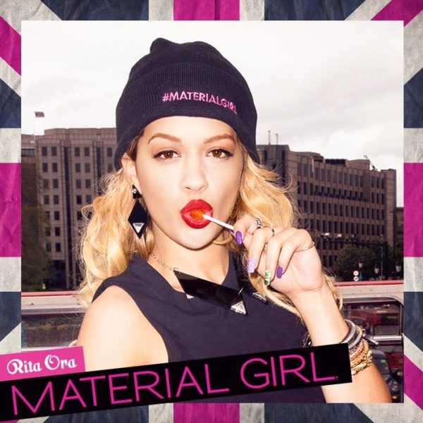 Fall 2013 Material Girl ad campaign featuring Rita