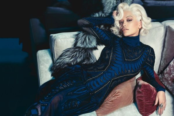Rita Ora for Roberto Cavalli ad campaign