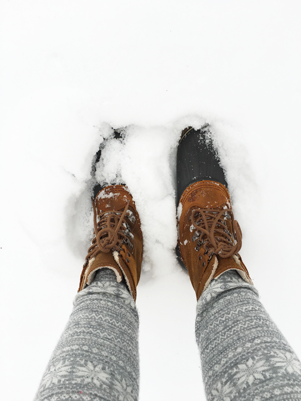 winter boots by Sorel