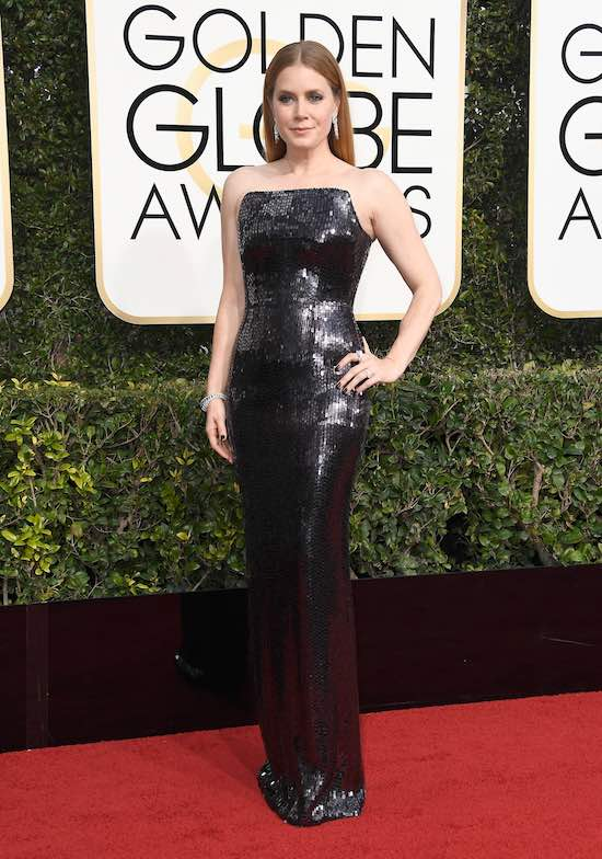 Amy Adams at the 2017 Golden Globes