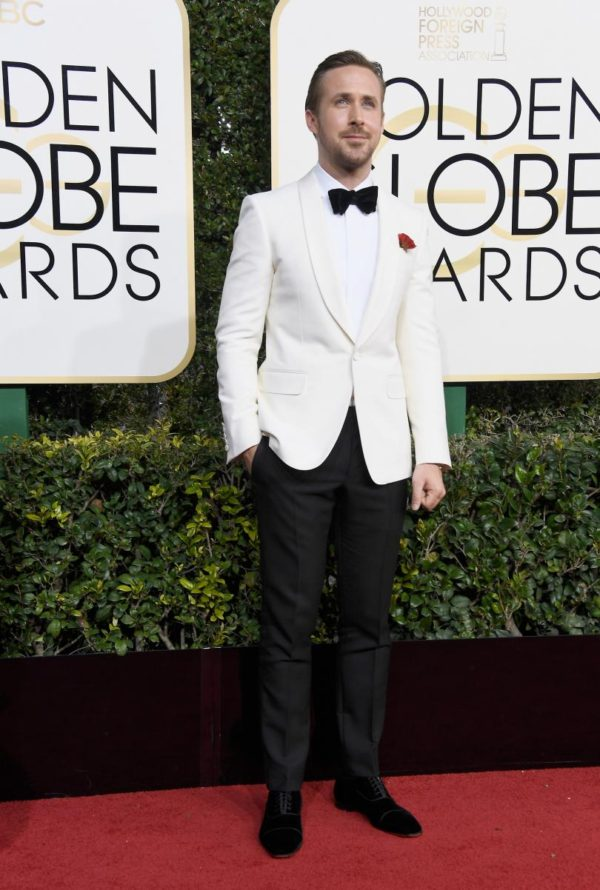 Ryan Gosling at the 2017 Golden Globes