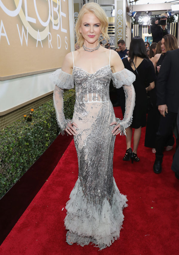 Nicole Kidman at the 2017 Golden Globes
