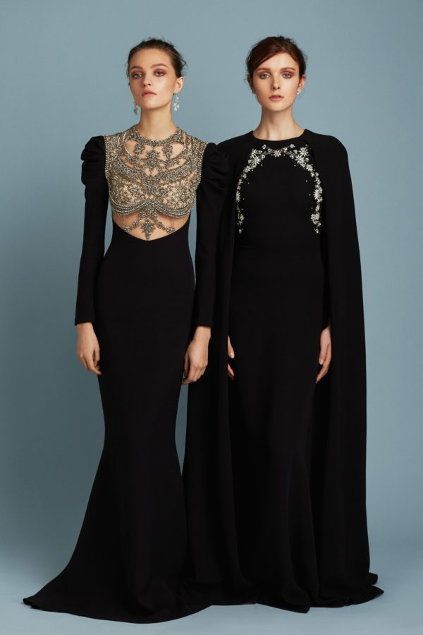 Reem Acra Pre-Fall 2017 collections
