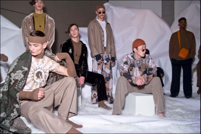 Edward Crutchley Menswear Fall 2017