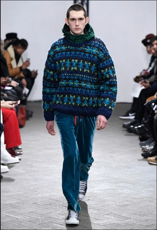 Facetasm Menswear Fall 2017
