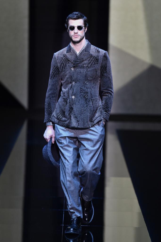Giorgio Armani Menswear Fall 2017
