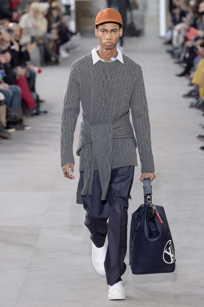 Louis Vuitton Menswear Fall 2017collection
