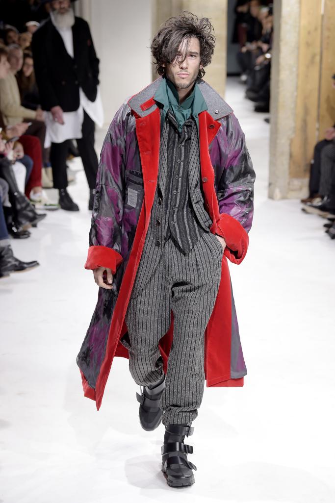 Yohji Yamamoto Menswear Fall 2017