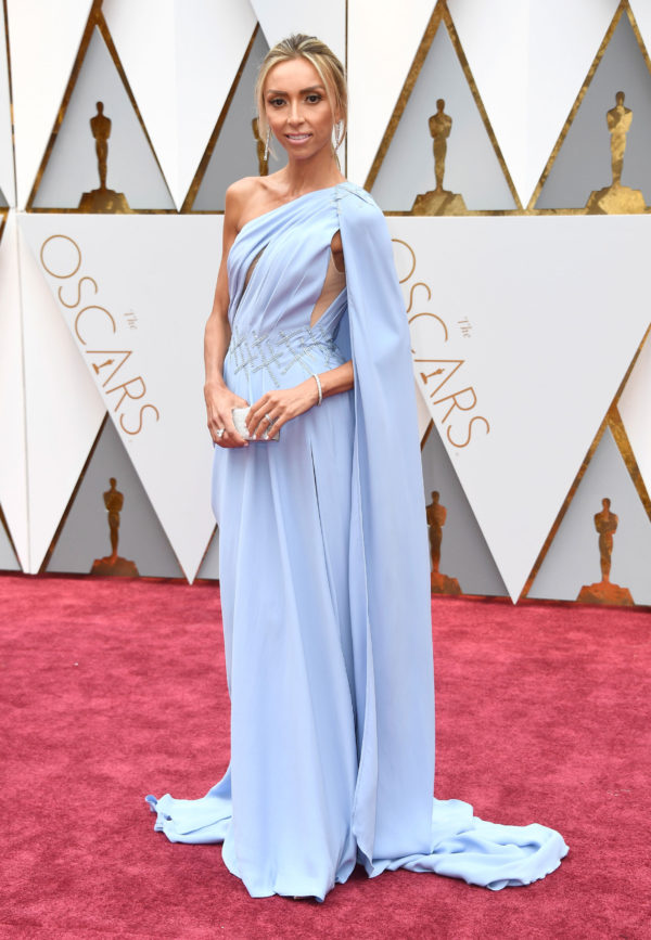 Oscars 2017 Trends- Giuliana Rancic in Georges Chakra Couture