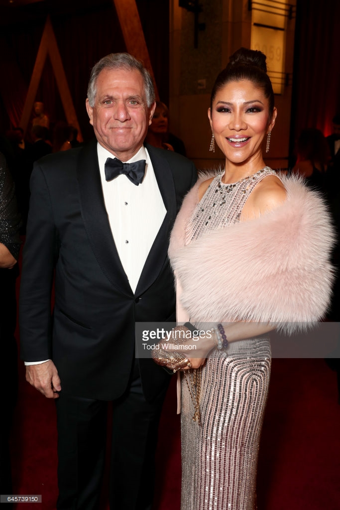 OSCARS 2017 - Leslie Moonves and Julie Chen