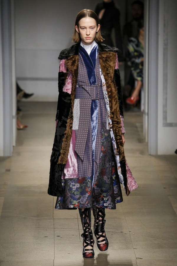 Erdem London Fashion Week Fall 2017