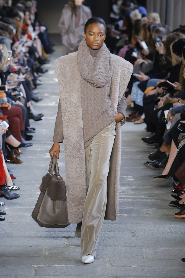Max Mara Milan Fashion Week Fall 2017