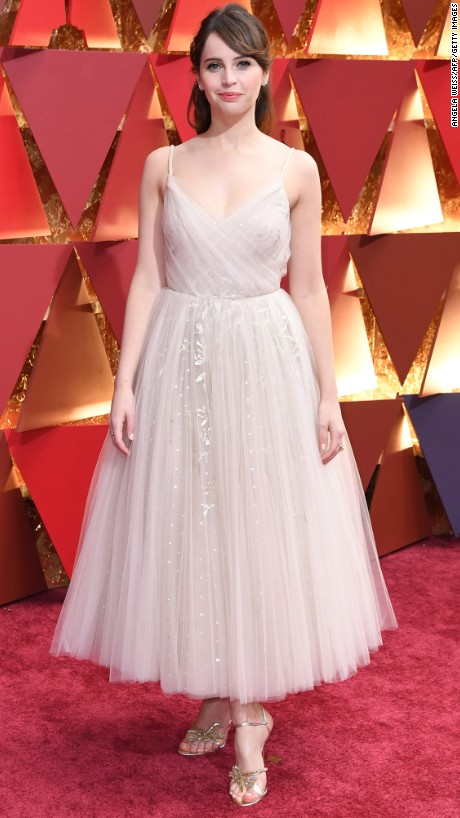 OSCARS Trends -Felicity Jones in