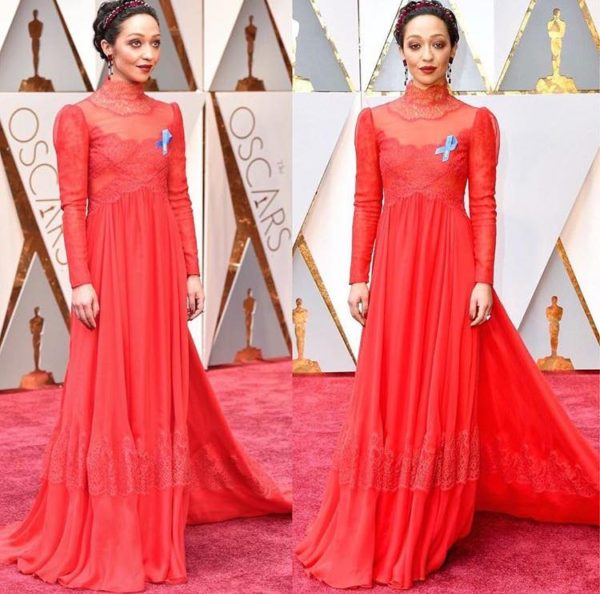 OSACRS 2017 TRENDS - Ruth Negga in Valentino