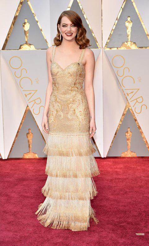 Oscar 2017 Emma Stone in Givenchy