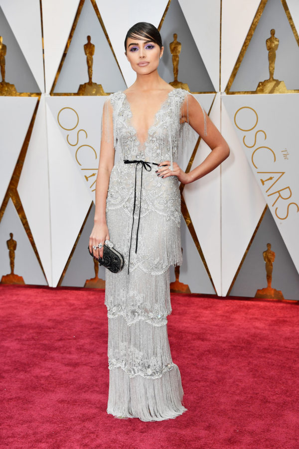 OSCARS Trends -Olivia Culpo in Marchesa