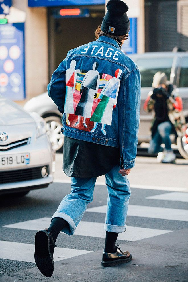 London Fashion Week streetstyle