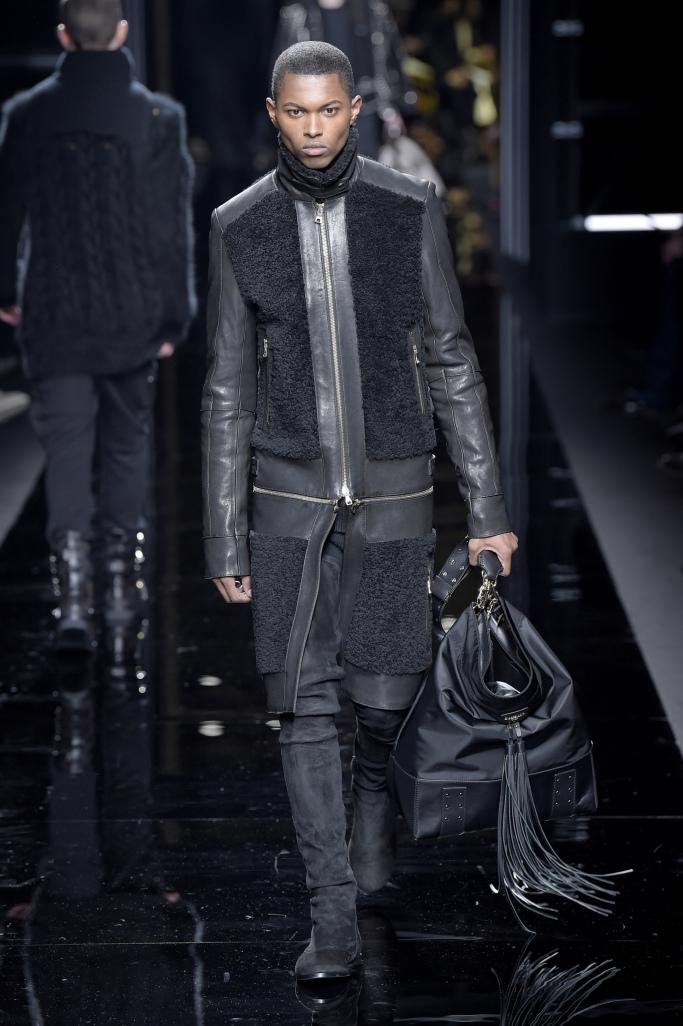 Balmain Menswear Fall 2017 collections