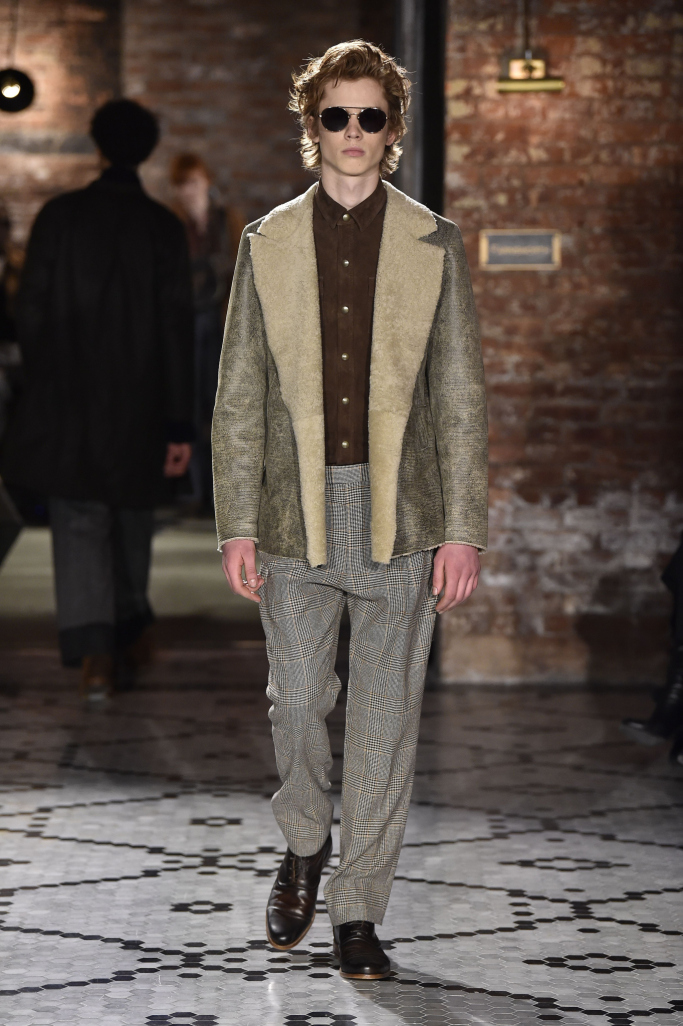 Billy Reid New York Fall 2017 Menswear