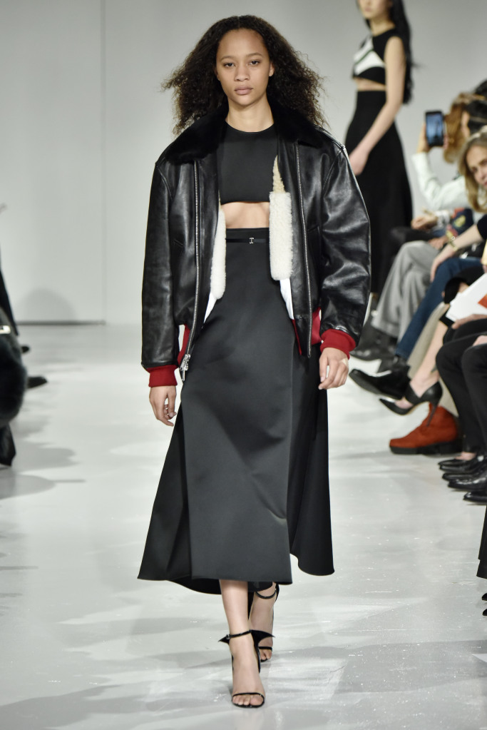 Calvin Klein New York Fashion Week Fall 2017