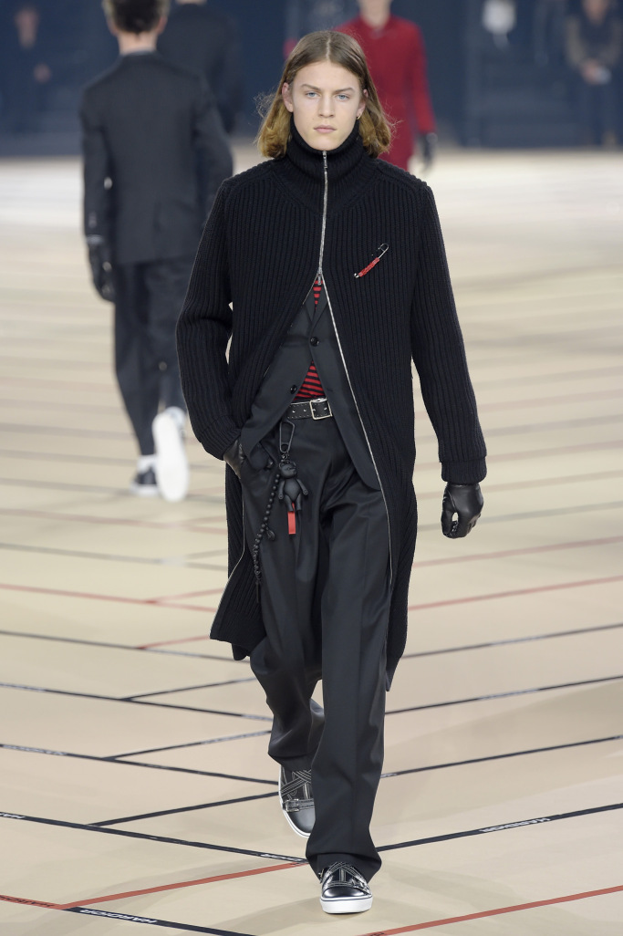 Dior Homme Menswear Fall 2017 collections
