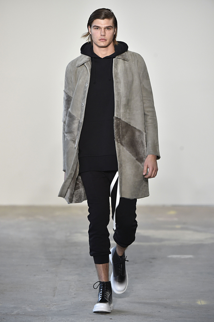 New York Fall 2017 menswear collections Loris Diran