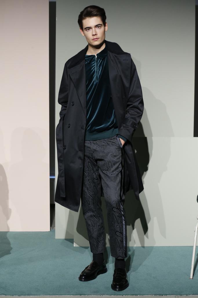 Maiden Noir New York Fall 2017 Menswear