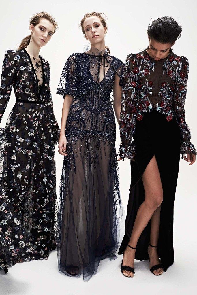 Monique Lhuillier New York Fashion Week Fall 2017