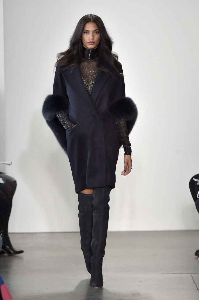 Pamella Roland New York Fashion Week Fall 2017