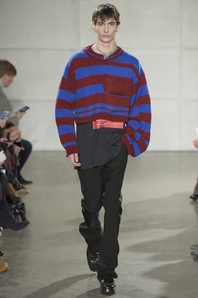 New York Fall 2017 menswear collections Raf Simons
