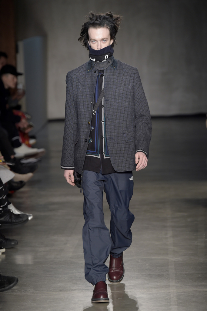 Sacai Menswear Fall 2017 collections