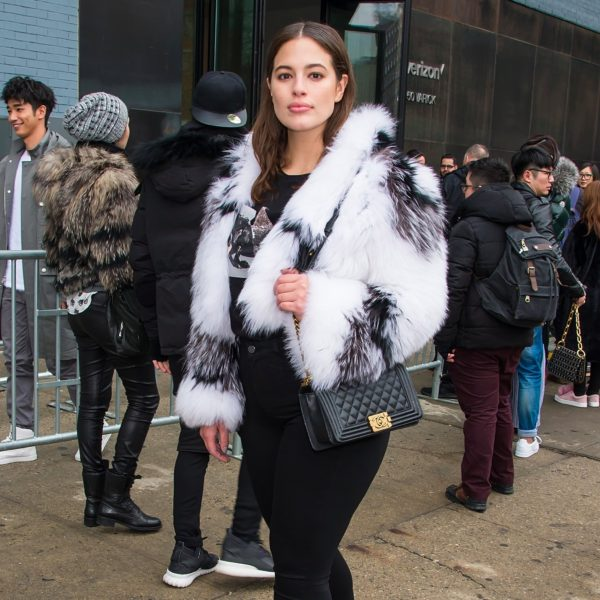 Sexy is as sexy does. Ashley's street style is flawless
