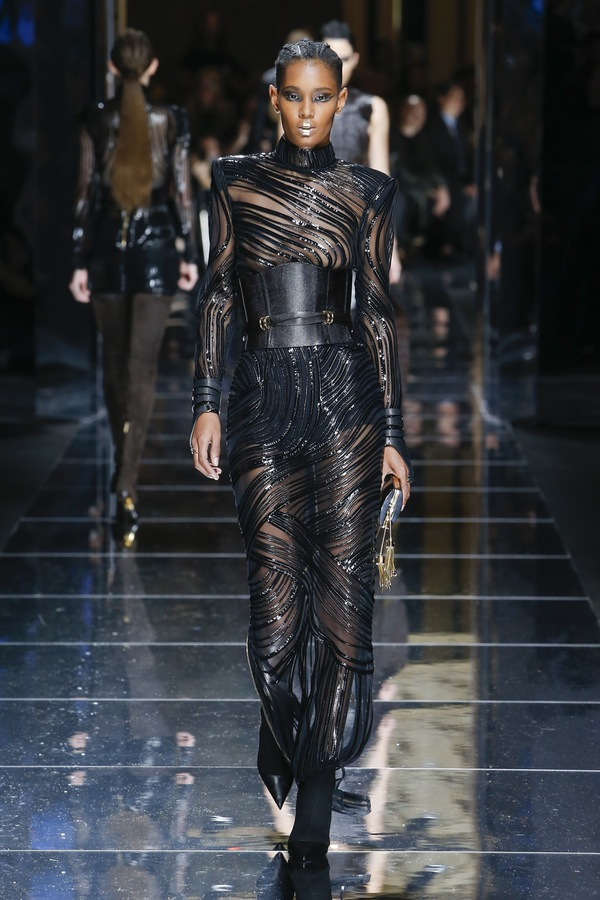 Balmain PARIS Fashion Week Fall 2017