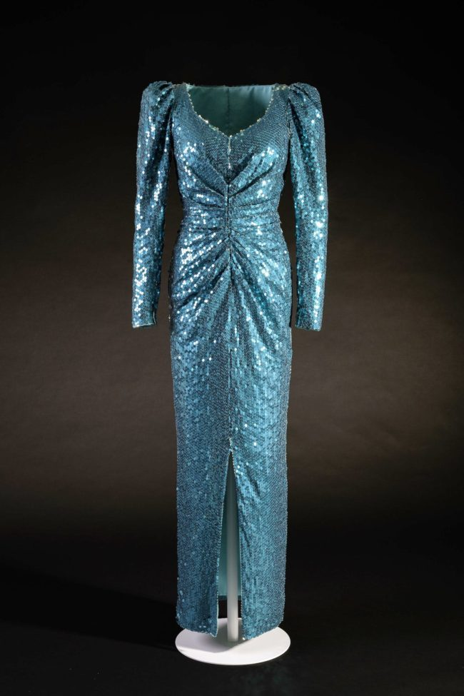 Catherine Walker, green sequin 'mermaid' dress