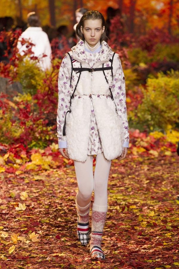 Moncler Gamme Rouge PARIS Fashion Week Fall 2017