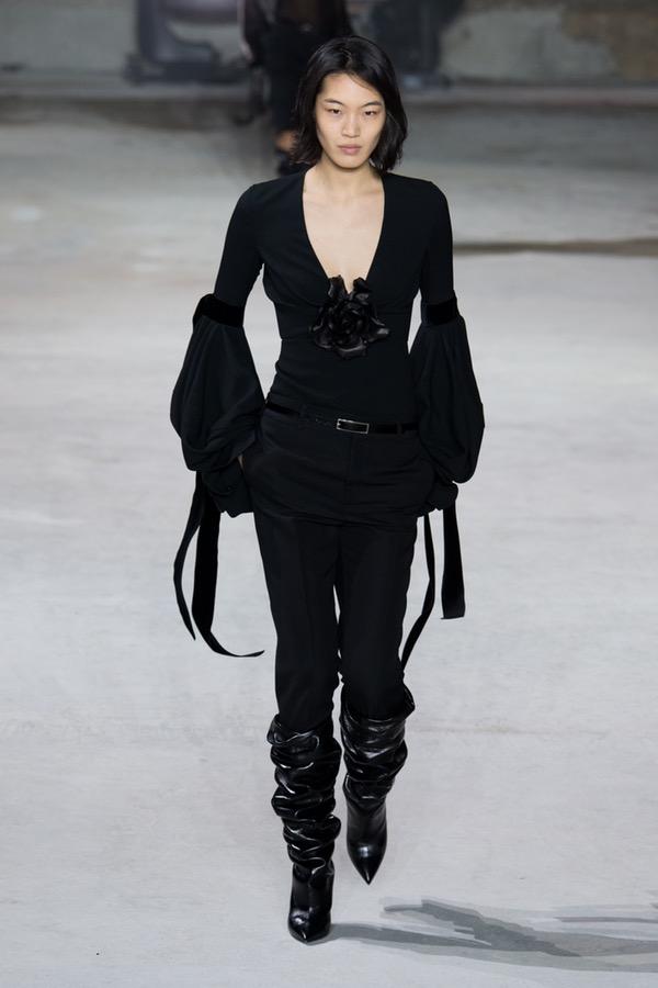 Saint Laurent PARIS Fashion Week Fall 2017