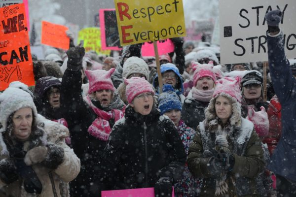 Thousands of Alaskans join Women's March in solidarity with national events - Alaska Dispatch News