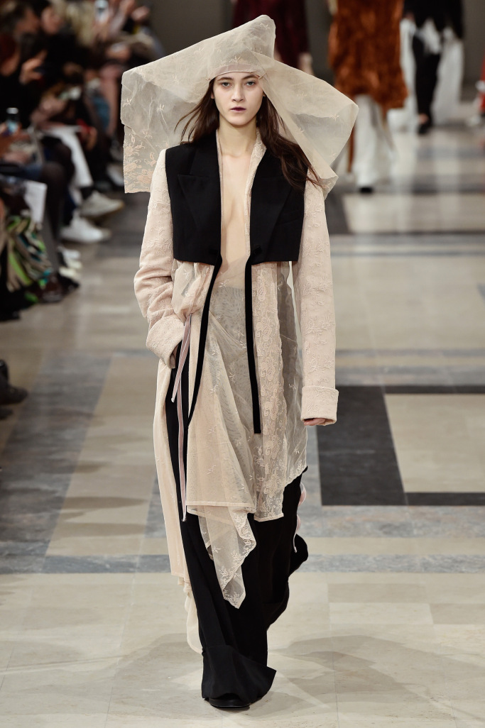 Ann Demeulemeester PARIS Fashion Week Fall 2017