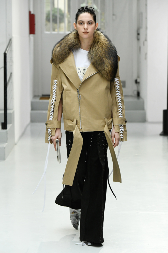 Anne Sophie PARIS Fashion Week Fall 2017
