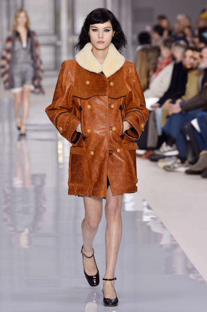 Chloé PARIS Fashion Week Fall 2017
