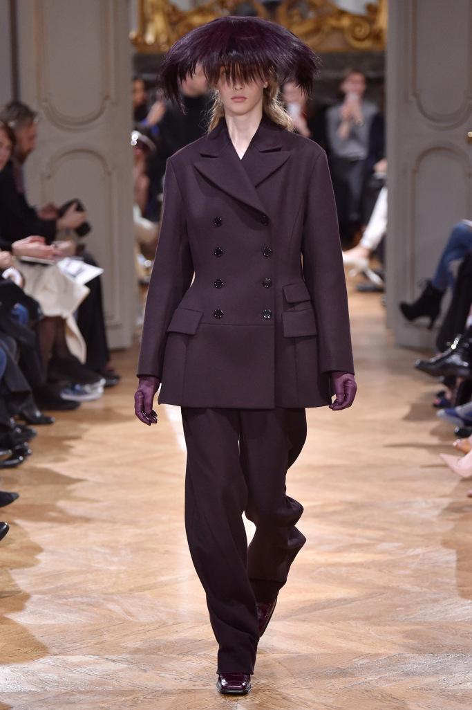 John Galliano PARIS Fashion Week Fall 2017