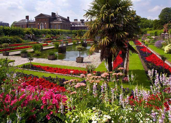 gardens of Kensington Palace Princess Diana