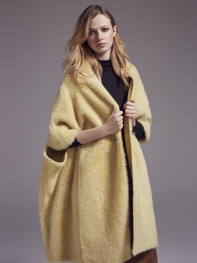 Yves Salomon PARIS Fashion Week Fall 2017