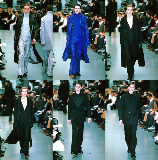 Yves Saint Laurent Autumn-Winter 1999 under Hedi Slimain