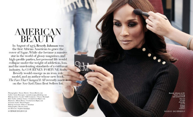 Beverly Johnson 2017 World's Most Beautiful Women