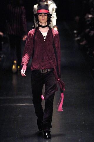 Dior Homme Autumn/Winter 2005 the Hedi Slimane