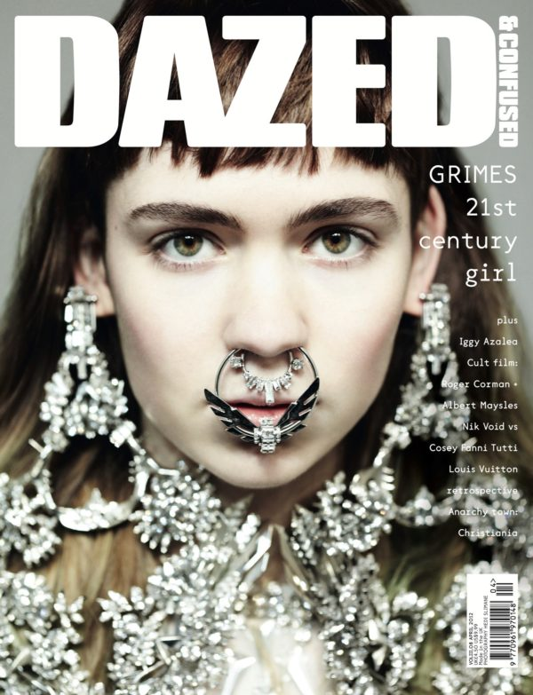 Hedi Slimane cover shoot for Dazed